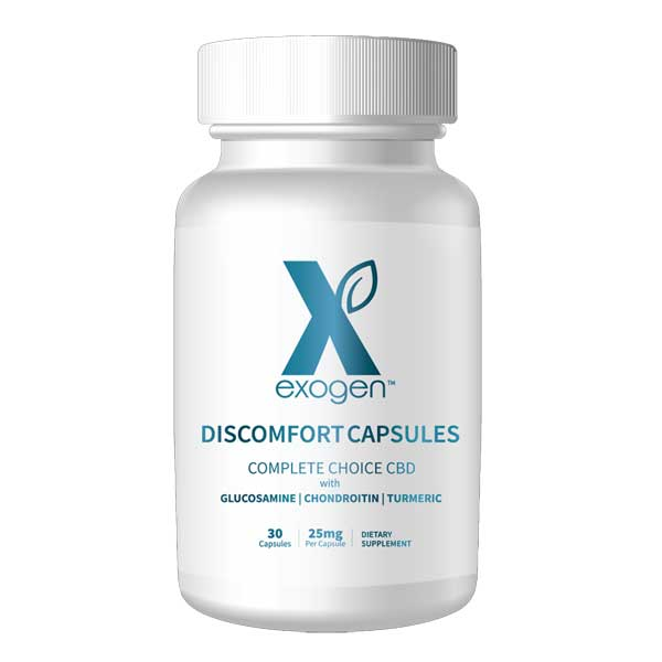 Exogen Complete Choice Discomfort Capsules