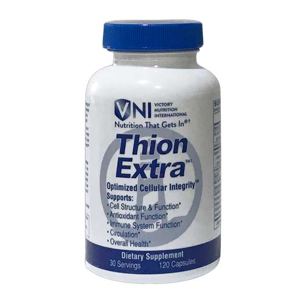 ThionExtra - Immunity and health. Anti-oxidant function (promoting Glutathione and SOD).