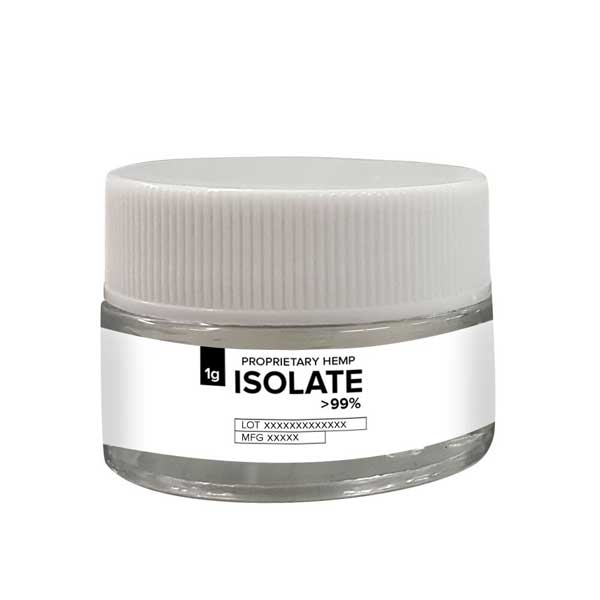 Proprietary Hemp Extract – CBD Isolate