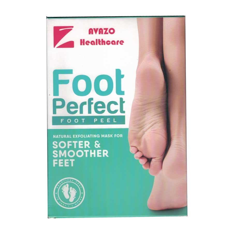 Foot Exfoliation Peel Mask is a revolutionary callus remover that eliminates dry, cracked and calloused feet and gives you back smooth, beautiful feet again.