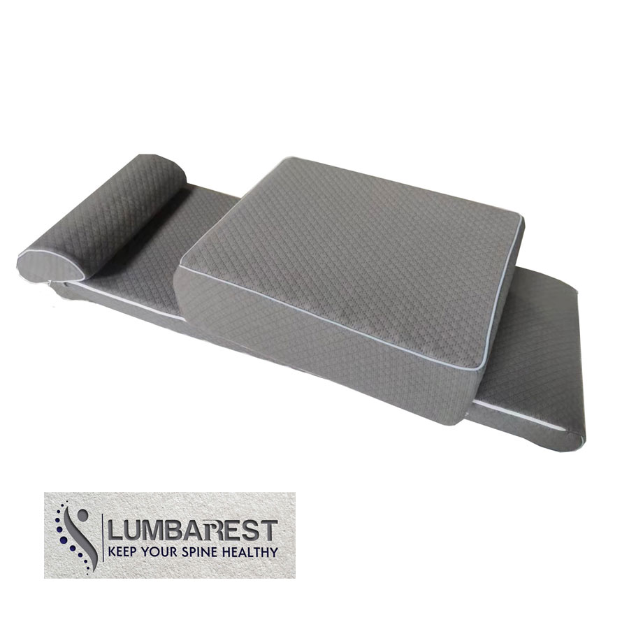 Lumbarest therapeutic mat - best solution for back pain relief